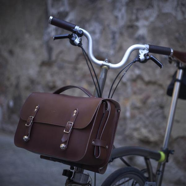 Souma Brompton Leather Camera Bag - Brown