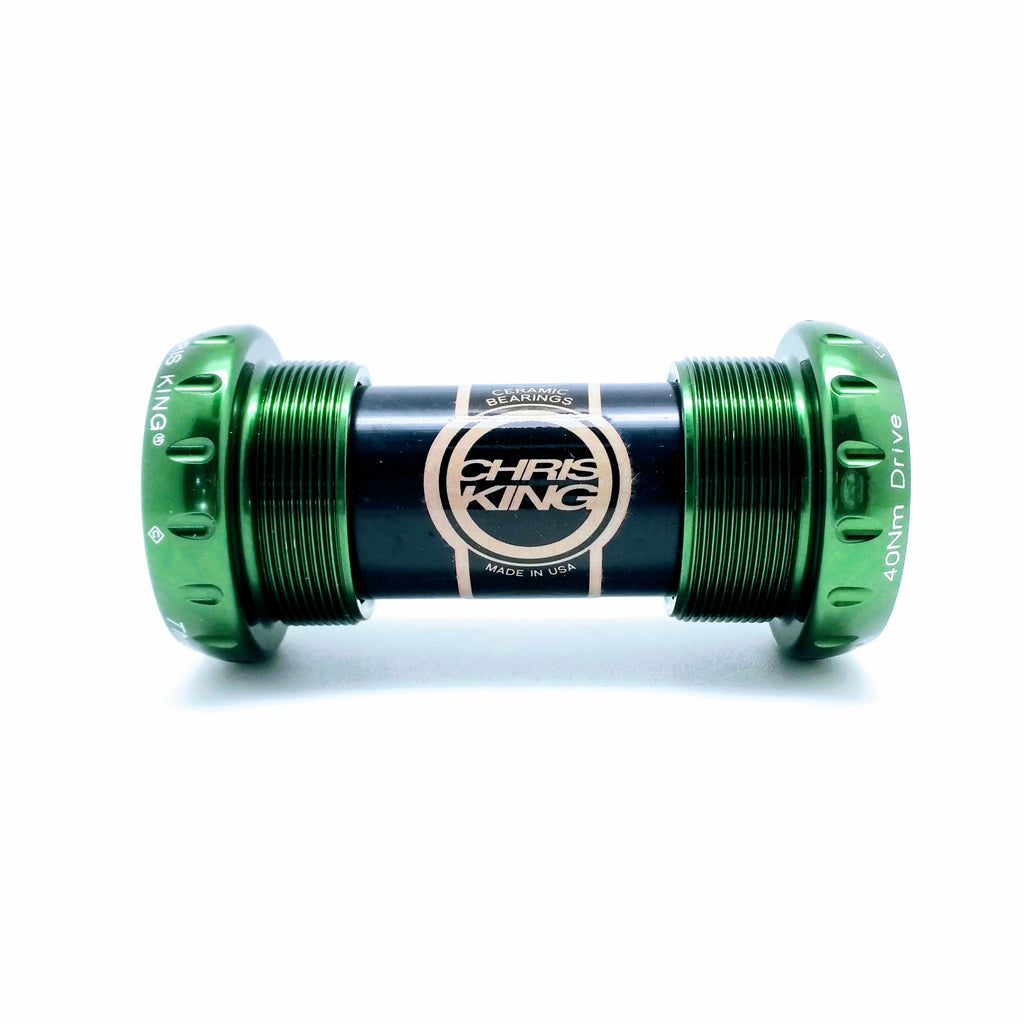 Chris King Threadfit 24 Ceramic Bottom Bracket - Green