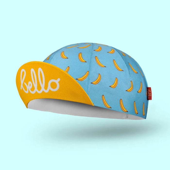 Bello Cotton Cycling Cap - Banana Joe