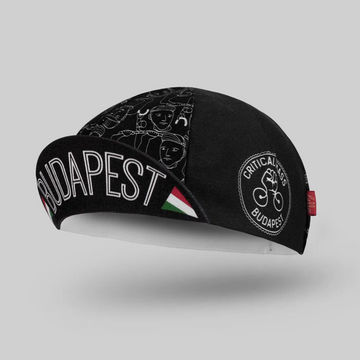 Bello Cotton Cycling Cap - Budapest Critical Mass - SpinWarriors