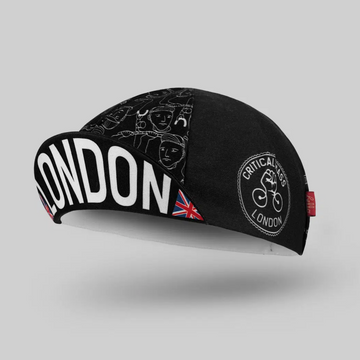 Bello Cotton Cycling Cap - London Critical Mass - SpinWarriors
