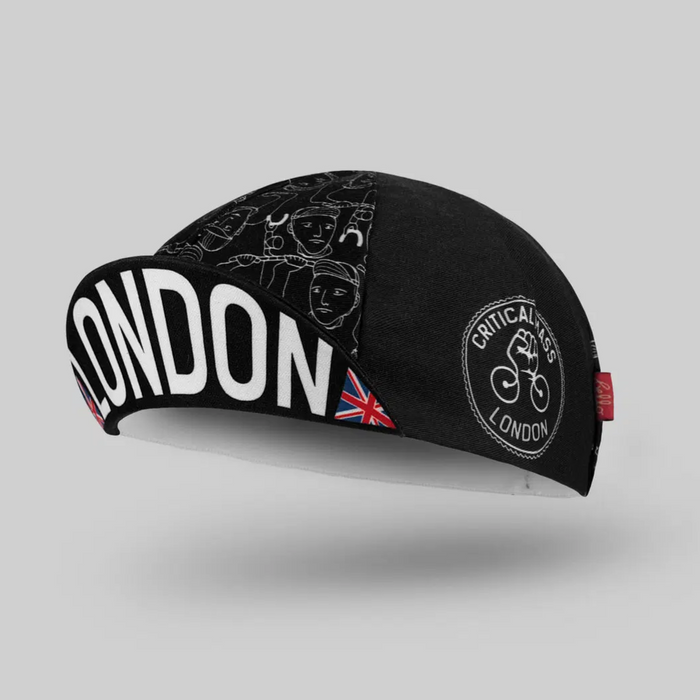 Bello Cotton Cycling Cap - London Critical Mass
