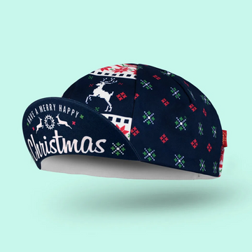 Bello Cotton Cycling Cap - Xmas - SpinWarriors