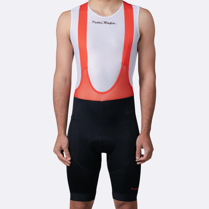 Pedal Mafia Tech Bibshort - Black Red