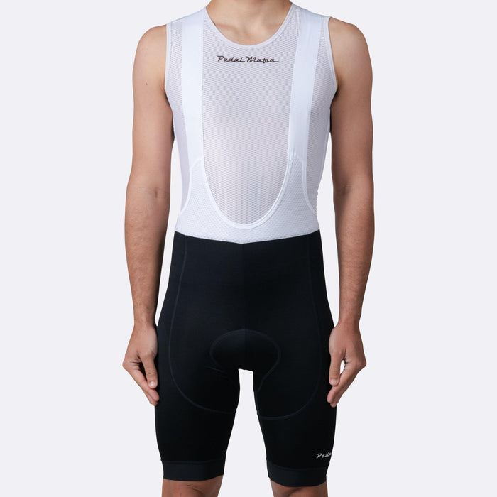 Pedal Mafia Tech Bibshort - Black White
