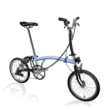 Brompton M6E - Cloud Blue/Black