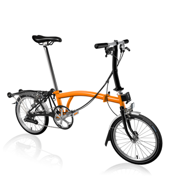 Brompton S6R - Orange/Black - SpinWarriors