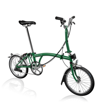 Brompton M6L - Racing Green/Racing Green - SpinWarriors