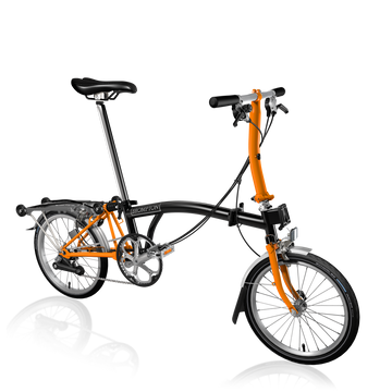 Brompton S6R - Black/Orange - SpinWarriors