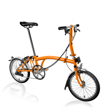 Brompton S6L - Orange/Orange - SpinWarriors