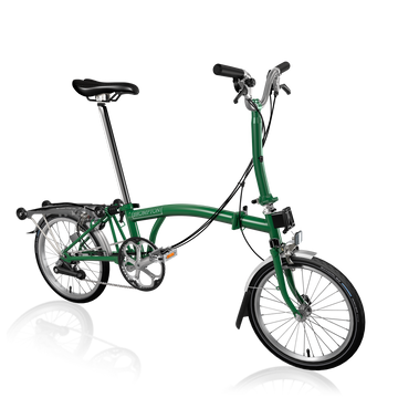 Brompton M6R - Racing Green/Racing Green - SpinWarriors