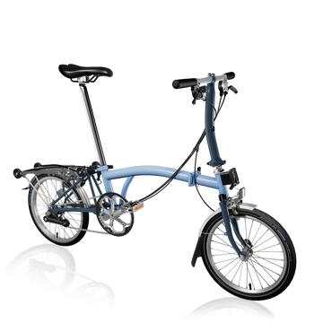 Brompton S6R - Cloud Blue/Tempest Blue - SpinWarriors