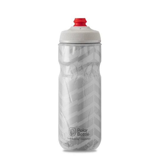 Polar Bottle Breakaway Insulated 20oz - Bolt White/Silver