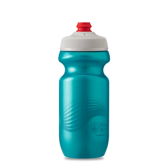 Polar Bottle Breakaway 20oz - Wave Teal/Silver