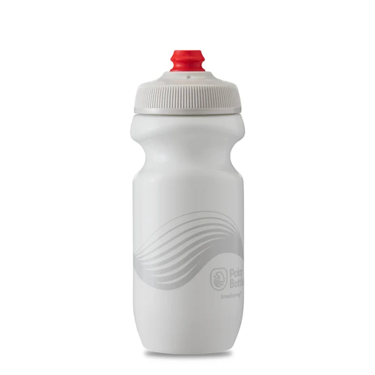 Polar Bottle Breakaway 20oz - Wave White/Silver