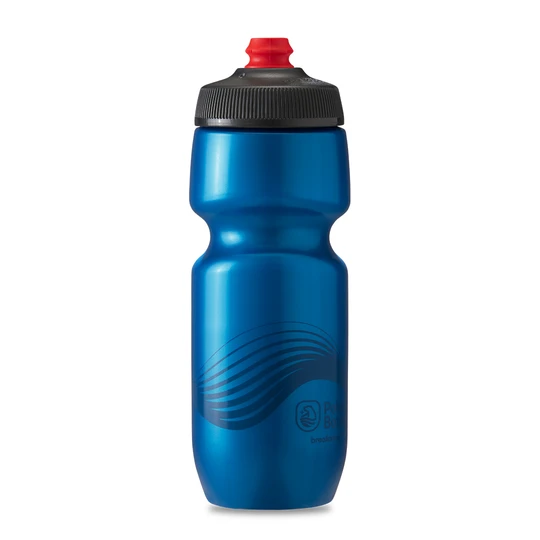 Polar Bottle Breakaway 24oz - Wave Cobalt Blue/Charcoal