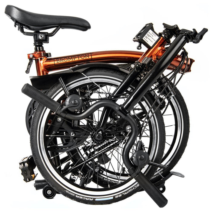 Brompton M6L - Flame Lacquer