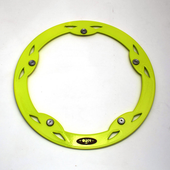 Odin Brompton 50T Chainguard - Lime Green