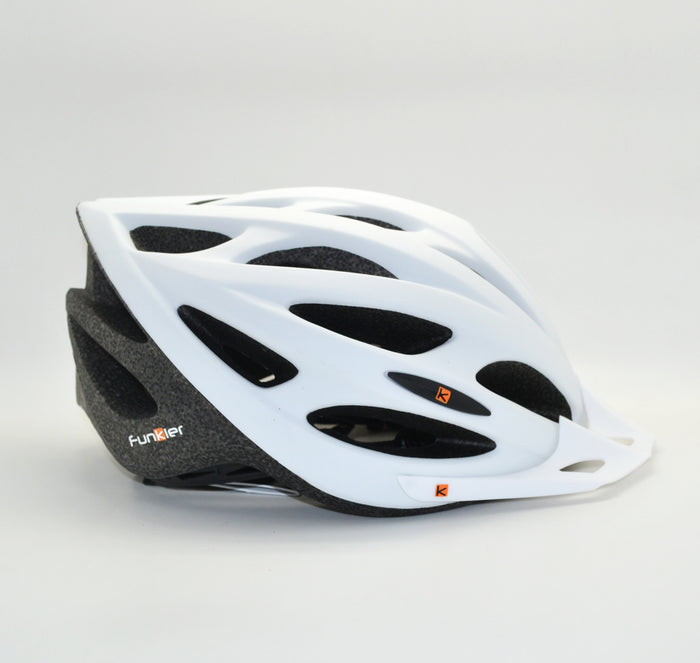 Funkier Saturn Helmet - White/Black