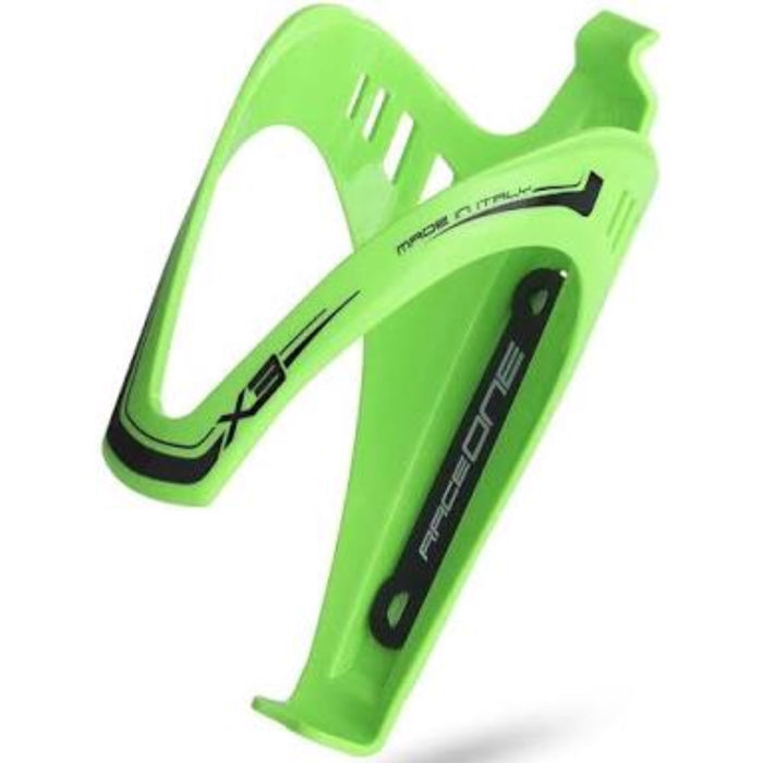 RaceOne X3 Bottle Cage - Green Fluo
