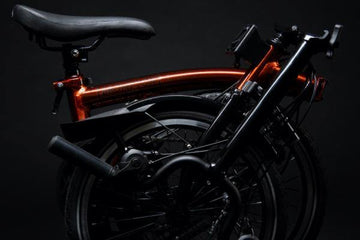 Brompton M6R Black Edition - Flame Lacquer - SpinWarriors