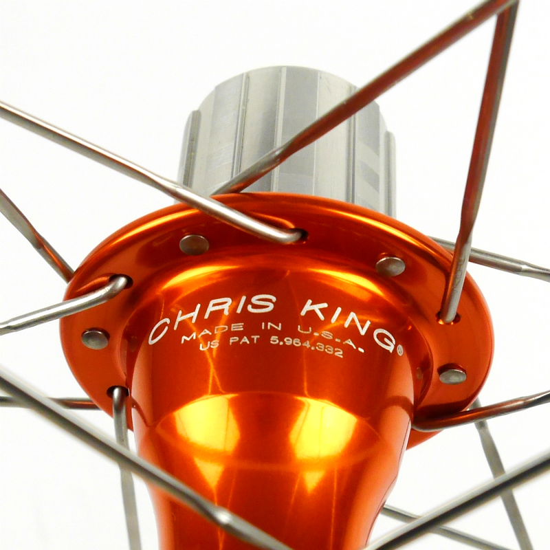 Chris King R45 Road Hubs - Mango
