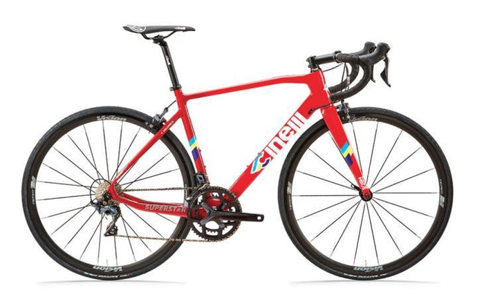 Cinelli Superstar Carbon Road Frameset - Red Hot