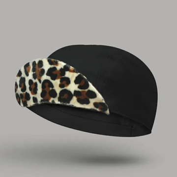 Bello Cotton Cycling Cap - Cleopatra Black - SpinWarriors