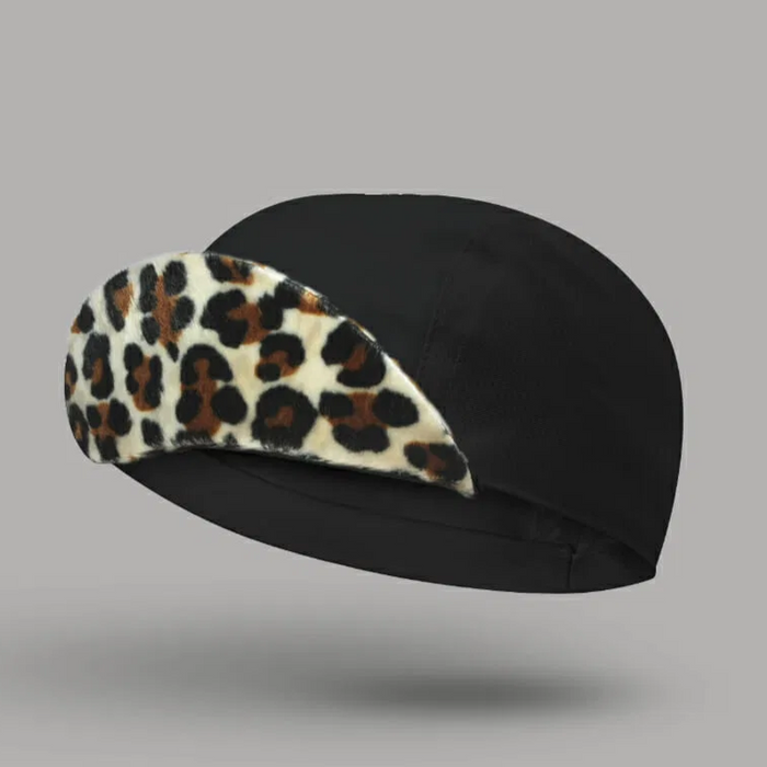 Bello Cotton Cycling Cap - Cleopatra Black