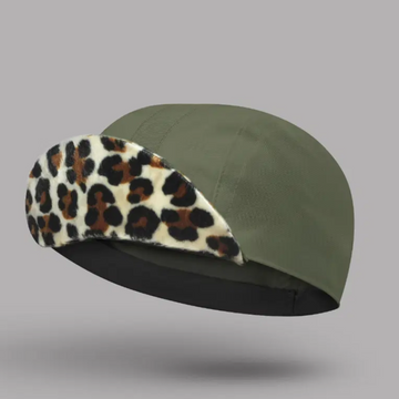 Bello Cotton Cycling Cap - Cleopatra Khaki - SpinWarriors