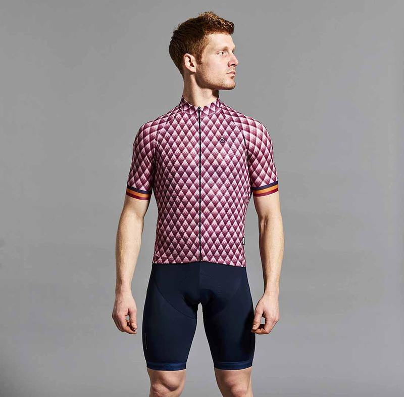 Chapeau! Club Stripe Pattern Jersey - Cherry
