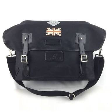 Carradice Brompton Stockport City Folder Bag - Limited Edition Black Union Jack