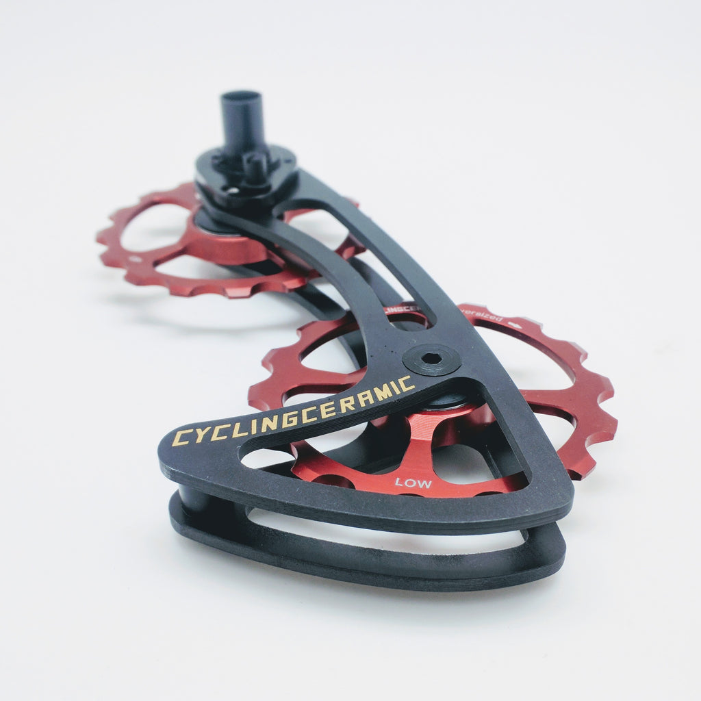 CyclingCeramic ODC System Shimano - Red