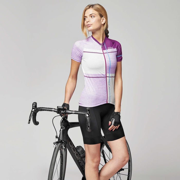 Dotout UP Woman Jersey - Melange Violet