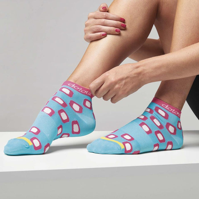 Dotout Dots Woman Sock - Light Blue
