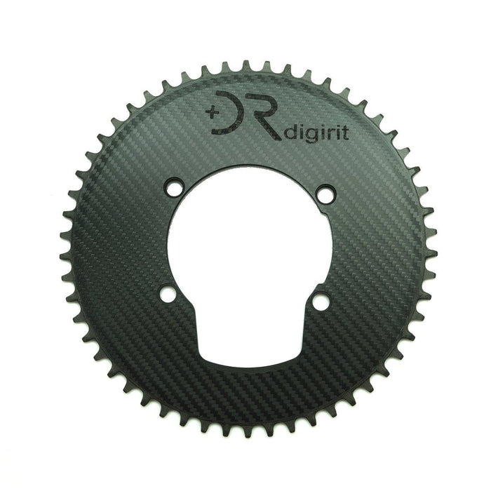 Digirit RT52 Carbon Chain Ring - 52T/BCD110/4 Bolts