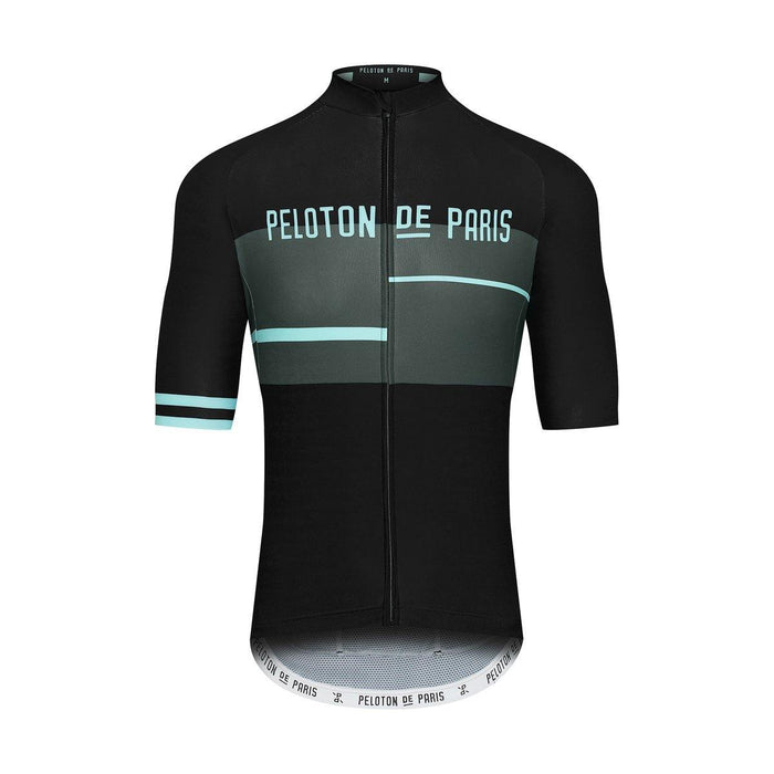 Peloton de Paris Domestique Jersey - Club Black