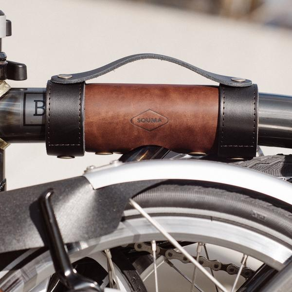 Souma Brompton Carry Handle - Whiskey