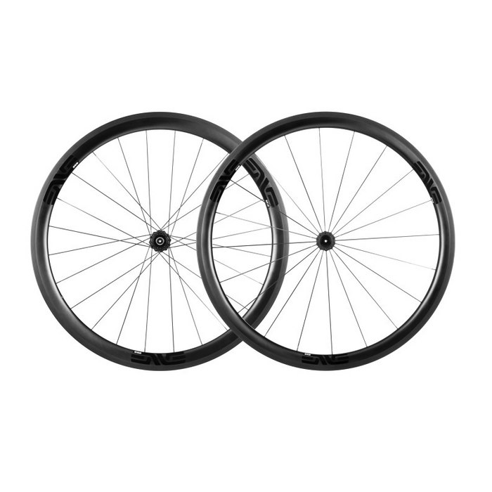 ENVE SES 3.4 Carbon Clincher Road Wheelset - Chris King R45 Ceramic Hubs