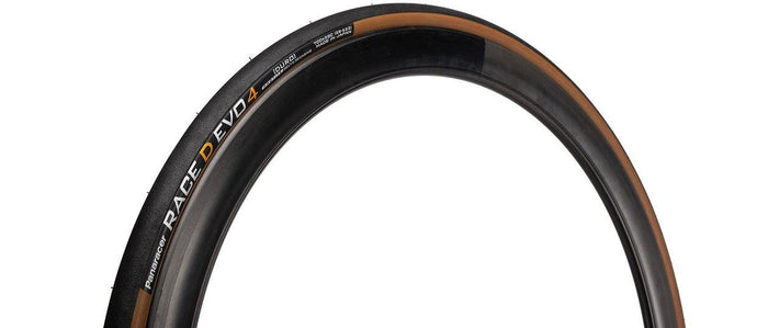 Panaracer Race D EVO4 Clincher Tire (700x25) - Black/Brown