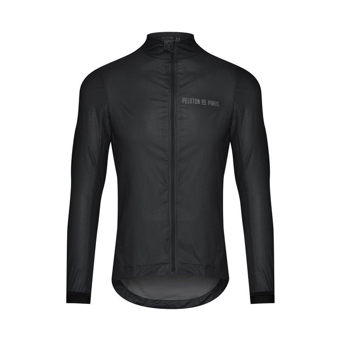 Peloton de Paris Elements Packable Jacket - Black