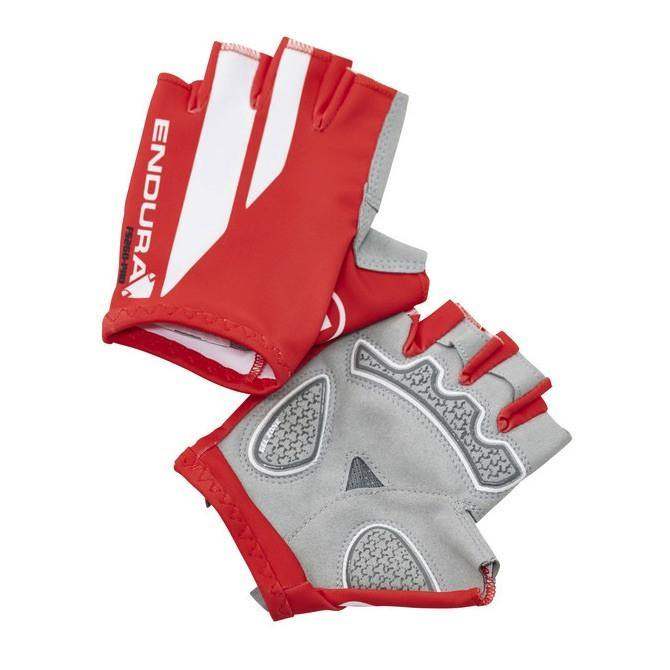 Endura FS260 Pro Print Mitt Gloves - Red