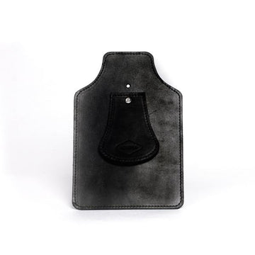 Souma Brompton Leather Mud Flap - Black - SpinWarriors