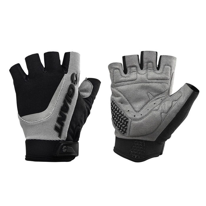 Giant Horizon Short Finger Gloves - Black/Grey