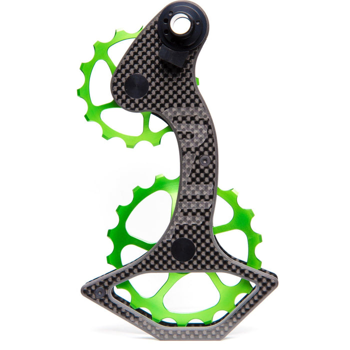 SLF Motion Hyper Speed System Campagnolo 14/18T - Green