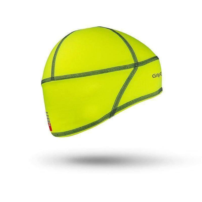 GripGrab Lightweight Thermal Hi-Vis Skull Cap - Yellow