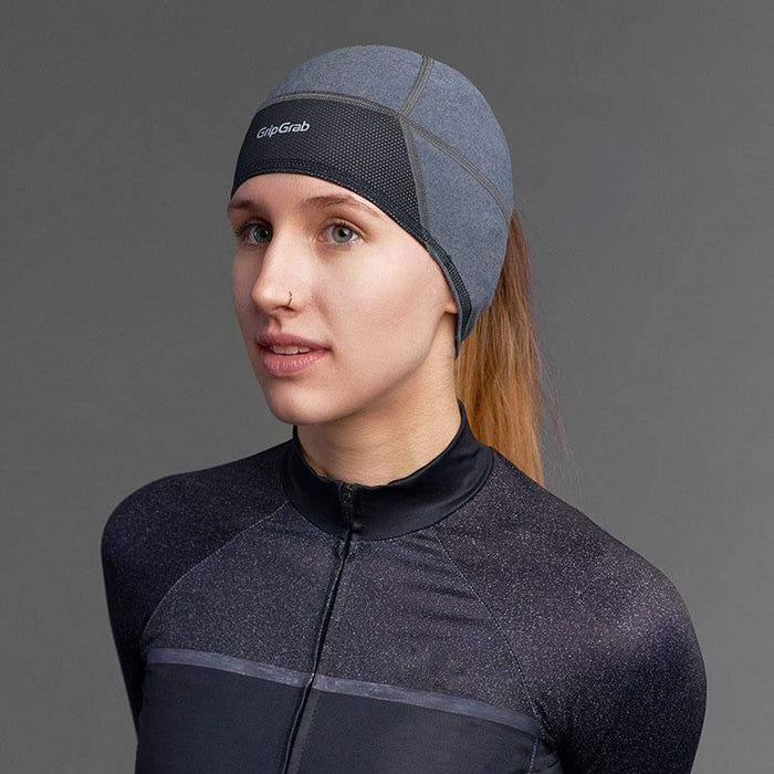 GripGrab Windproof Lightweight Thermal Woman Skull Cap