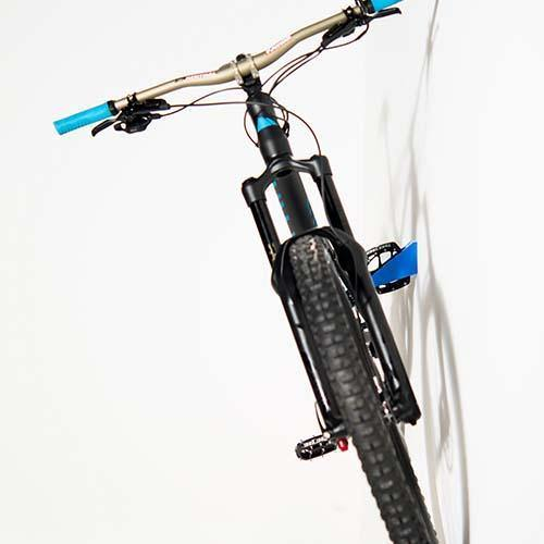 Cycloc Hero Bike Wall Rack - Blue