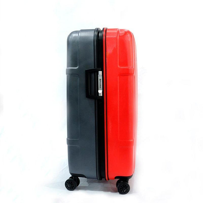 President Brompton Bike Case - Grey/Bright Red