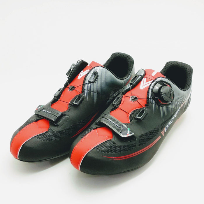 Vittoria Fusion Road Shoes - Black/Red